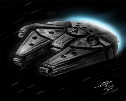 Millenium Falcon (DSC) by jameslink