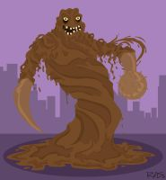 Gotham's Rogues: ClayFace by rickytherockstar