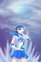Sailor Mercury by beside-XIV