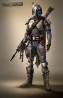 Boba Fett 1313 by mgm97