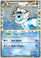 Vaporeon by FlamingClaw