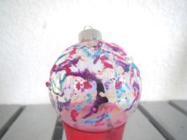 Hand Decorated Ornament by SilverTetsusaiga