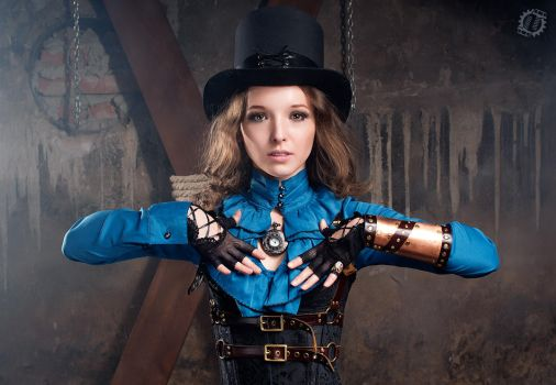 Steampunk Girl II by LahmatTea