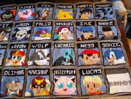 SSBB Blanket Second Half by DearAngelTori