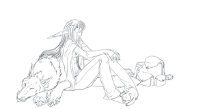 Relaxing - WIP by Lefice