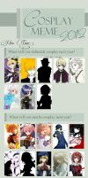 Cosplay meme 2012 by Shi-chama