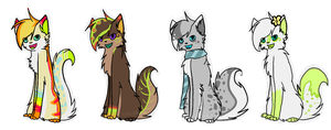Season Adoptables CLOSED by xseashell
