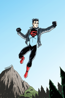DC2 Superboy by herrenmedia