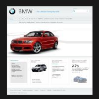 BMW Site by eLegant04