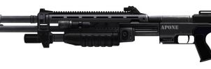 Custom M45 Tactical Shotgun by MashterChief117
