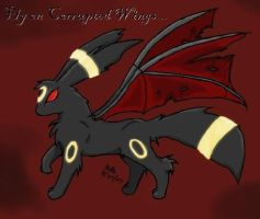 Corrupted Umbreon by NejiKitty