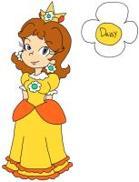 Princess Daisy by Samthelily