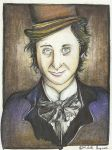 Gene Wilder Portrait by MichelleBergeron