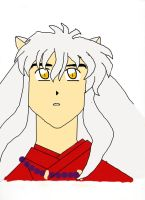 Inuyasha (Colored) by ncov2121