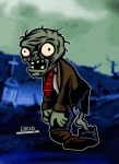 Plant Eating Zombie! by CreedStonegate