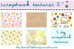 scrapbook textures 2 by hearXtheXsirens