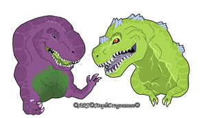 Toons and TV: ChildHood Dinos by StephDragonness