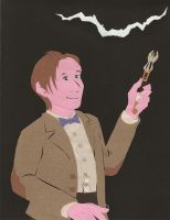 Paper Cutout Eleventh Doctor by McMitters