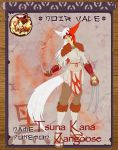 Pokimono Villager app: Tsuna Kana the Zangoose by Aniral