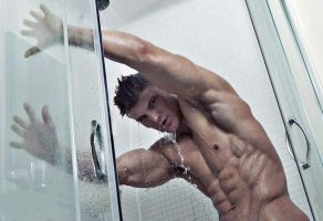 Playing In the Shower by builtbytallsteve