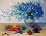 Flowers and fruits by Kaitana