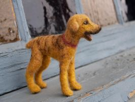 Adah- Needle felted Commission by feltAliza
