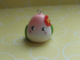 Clay Juju Chan Peach Bun by CraftyOlivia