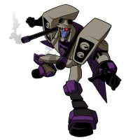 Animated Blitzwing Colored by arok318