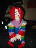 Rainbow Laughing Jack Plush by King-Candy
