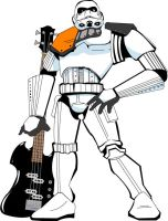 BASS Playing Storm Trooper by TheBlindSniper