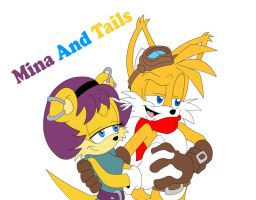 Tails And Mina 30 years later by tacofacedrawer