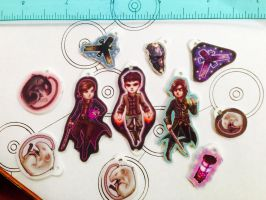 Dishonored charms by A-Fearsome-Artisan