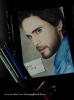 Jared Leto by GiselleAFerreira