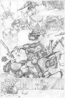 The Duel - pencils 4 by shaungardiner