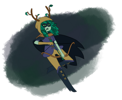 Huntress Wizard by Mags-Pi