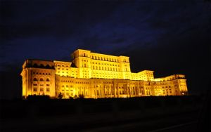 The Romanian Parliament by nyc0
