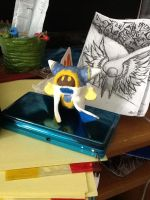 WIP Magolor Sculpture by nevermelticecube