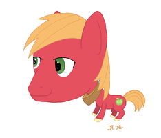 Bobble-Head Pony: Big Macintosh by Super-Zombie