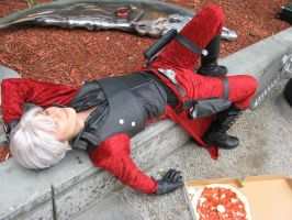 Too Much Pizza by ChaosPhoto
