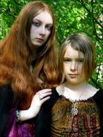 Two Witches by Wilhelmine