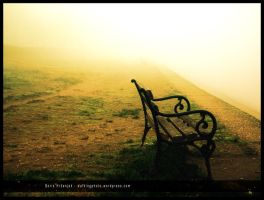 Empty bench by Ph1at1ine