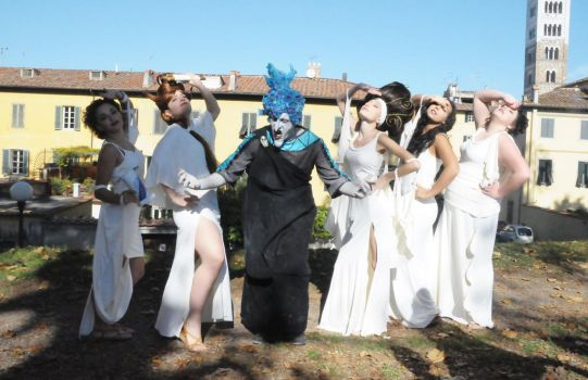 Hades and Muses Cosplay by Maspez