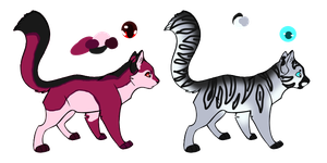 Cat auction adopts open by TWDAdoptables