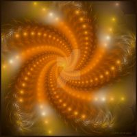 Golden Swirls by TropicalCreations