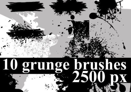 Grunge Photoshop Brushes by bobo2017