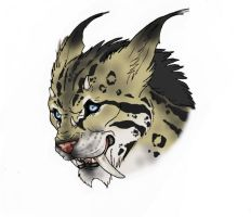 Caliban forest cat 3 by HeavenlyOdyssey
