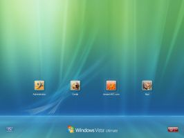 Vista Default Login 10 pre-RC by RaulWindows