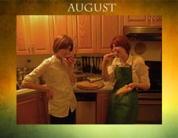 August - Hetalia Cosplay Calender Project by caught-the-doodlebug