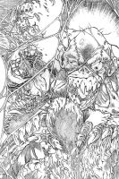 SWAMPTHING-pencils-03 by RONJOSEPH-ARTIST