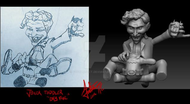 Joker Toddler Day 5 by godproject